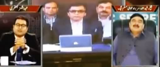 Sheikh Rasheed Badly Grills Pro-MQM Anchor, Interesting Conversation
