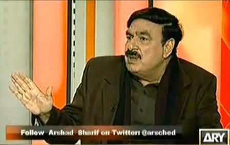 Sheikh Rasheed Bashing Maulana Fazal ur Rehman in Angry Moood