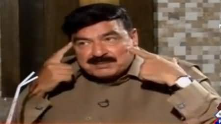 Sheikh Rasheed Got Angry on Rana Mubashir For Asking Questions About PTI & Imran Khan