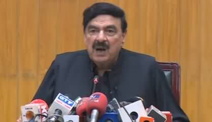 Sheikh Rasheed Grills Nawaz Sharif On Demand of His Name Removal From ECL