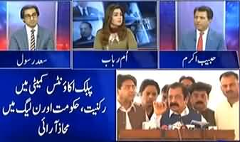 Sheikh Rasheed Is Creating Troubles For PTI Govt - Habib Akram Analysis