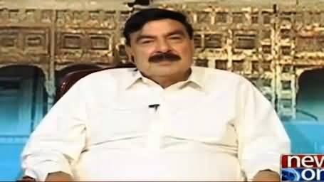 Sheikh Rasheed Pointing Out Some Important Points in Gujranwala Train Incident