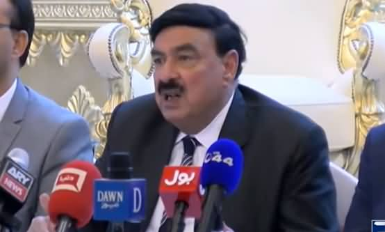 Sheikh Rasheed Press Conference On Kashmir Issue In London - 17th August 2019