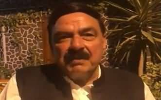Sheikh Rasheed´s Blasting Reply To Indians Over Threat