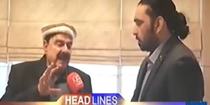 Sheikh Rasheed's Hilarious Slip of Tongue, Must Watch