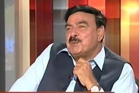 Sheikh Rasheed Views on Reham Khan's Entry In Politics