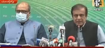 Shibli Faraz And Shahzad Akbar Joint Press Conference - 21st May 2020