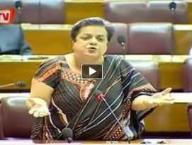 Shireen Mazari PTI Speech in National Assembly on Church Attack and Minorities Rights