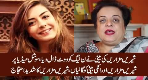 Shireen Mazari's Daughter Vote For PMLN, Social Media Angry on Shireen Mazari