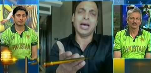 Shoaib Akhtar Bashing Pakistani Team After Getting Defeated by West Indies
