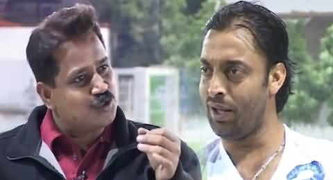 Shoaib Akhtar's Interview About His Performance, Funny Tezabi Totay Clip