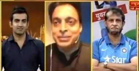 Shoaib Akhtar Talk To Indian Media After Pakistan Win Champion Trophy 2017