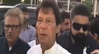 Sindh Ki Aik Bohat Bari Bemari Hai Jis Ka Naam Zardari Hai - Imran Khan