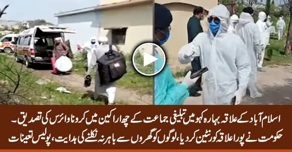 Six Members of Tableeghi Jamaat Diagnosed With Coronavirus in Islamabad