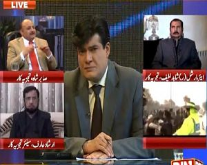Siyasat Aur Riyasat (Imran Khan's Protocol in Peshawar) - 14th January 2015