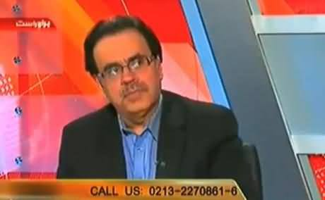 Some Politician Wished to Kill Dr. Shahid Masood with His Own Hands