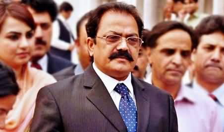 Soon, I will Expose the Hypocrites in my Party, Who Have Captured the Whole Party - Rana Sanaullah