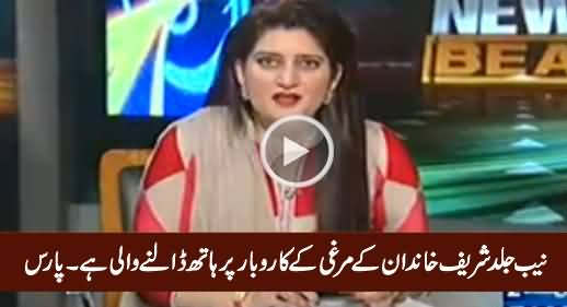Soon NAB Is Going To Take Action Against Sharif Family's Poultry Business - Paras Jahanzeb