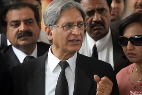 Special Court Verdict is in Favour of Pervez Musharraf and Stakeholders - Aitzaz Ahsan