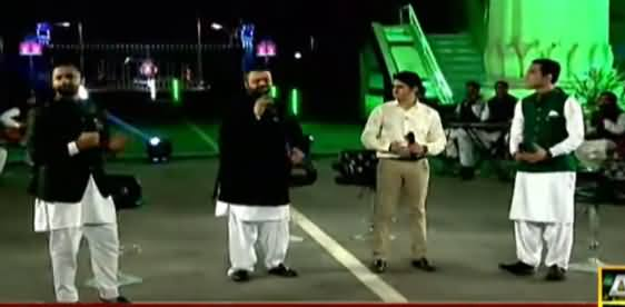 Special Transmission At Wagah Border With Waseem Badami & Iqrar Ul Hassan - 5th September 2021