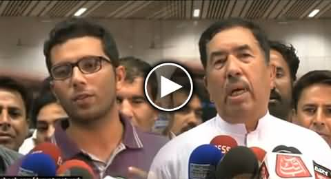 Student That Was Tortured in India, Talking to Media with His Family At Lahore Airport