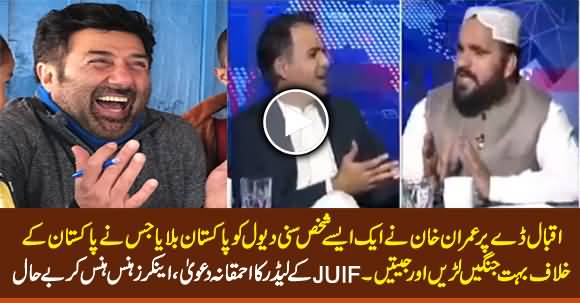 Sunny Deol Fought Many Wars Against Pakistan - JUIF Leader's Stupid Claim Made Anchors Laugh