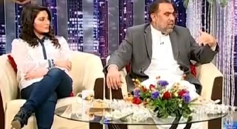 Syasi Theater 23rd March 2015 Asad Qaiser and Khushboo