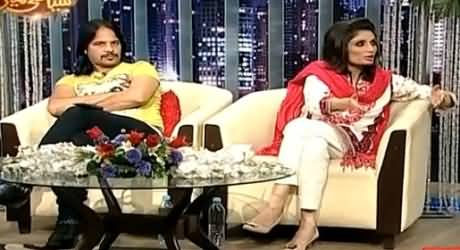 Syasi Theater on Express News – 28th July 2015
