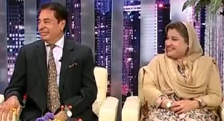 Syasi Theater (Saba Sadiq PMLN & Riaz Fatiana PTI) – 13th April 2015