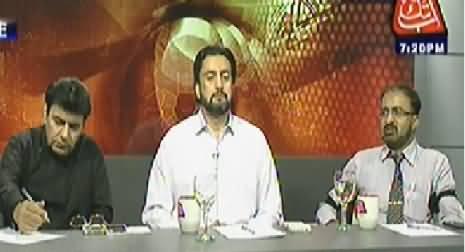 Table Talk (Can Dr. Tahir ul Qadri Bring Revolution?) – 19th June 2014
