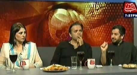 Table Talk (Eid Special With Kashif Abbasi, Fareeha Idrees & Saleem Safi) – 30th July 2014