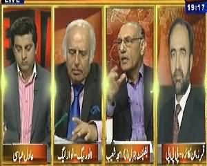 Table Talk (Nawaz Zardari One to One Meeting, Inside Story) - 16th April 2014