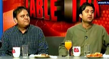 Table Talk P-2 (Eid with Kashif Abbasi, Fawad Chaudhry, Murad Saeed) - 31st July 2014