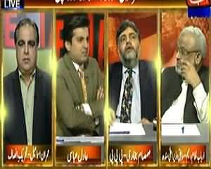 Table Talk (Political Point Scoring on The Distribution of Aid in Thar) – 11th March 2014