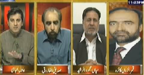 Table Talk (PTI Long March is a Great Challenge For Govt) – 10th July 2014