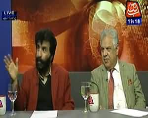 Table Talk (Talban Accepts Responsibility of Attack on Police Van in Karachi) - 13th February 2014