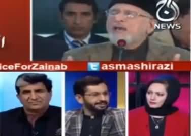 Tahir ul Qadri Has Always Did Conspiracies Against Democracy - Saleem Safi