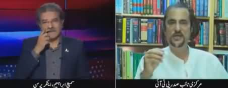 Tajzia Sami Ibrahim Kay Sath (Babar Awan Exclusive Interview) - 3rd July 2018
