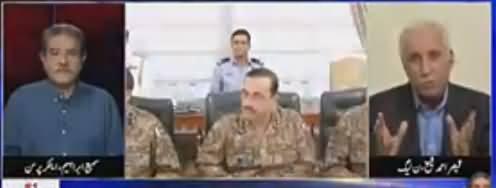 Tajzia Sami Ibrahim Kay Sath (PMLN Mein Ikhtilafat) - 17th May 2018