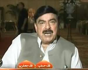 Takrar - 14th July 2013 (Sheikh Rasheed Exclusive Interview on the Politics of our Country)