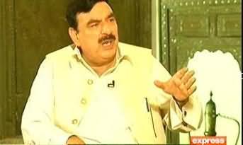 Takrar – 8th June 2013 (Exclusive Interview Of Shaikh Rasheed Ahmad)