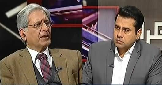 Takrar (Aitzaz Ahsan Exclusive Interview) - 14th March 2017
