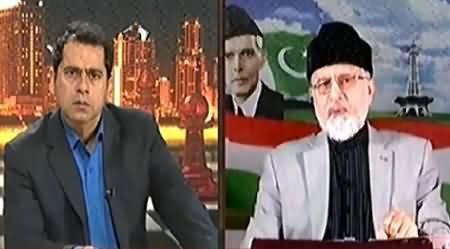 Takrar (Dr. Tahir ul Qadri Exclusive Interview) – 6th June 2014
