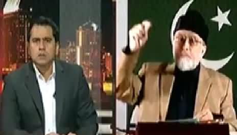 Takrar (Dr. Tahir ul Qadri Exclusive Interview) – 9th May 2014