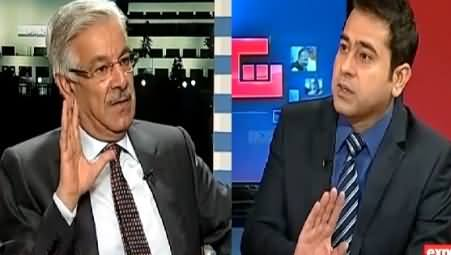 Takrar (Khawaja Asif Exclusive Interview) – 1st July 2015