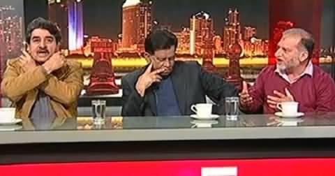 Takrar (Orya Maqbool Jan Vs Iftikhar Ahmad, Hot Debate) - 25th January 2014