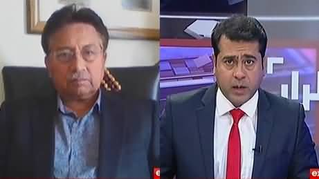 Takrar (Pervez Musharraf Exclusive Interview) - 14th February 2017