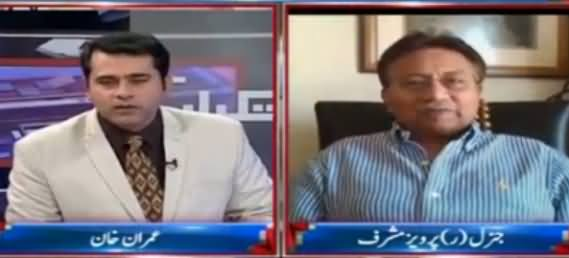 Takrar (Pervez Musharraf Exclusive Interview) - 21st December 2016