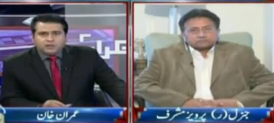 Takrar (Pervez Musharraf Exclusive Interview) - 30th May 2017