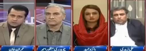 Takrar (PMLN Pas e Parda Quwaton Ka Naam Kyun Nahi Leti) - 12th December 2017